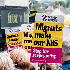 Durham  Miners Gala 2019 (Cerdic Elesing) Tags: marching kodakektar durhamminersassociation countydurham england durham banner protest object xequals