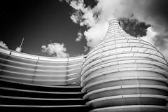 Futuroscope de Poitiers, France (pas le matin) Tags: bw nb blackandwhite noiretblanc travel voyage world poitiers poitou poitoucharentes architecture monochrome sky clouds nuages futuroscope canon 5d 5dmkiii canoneos5dmkiii canon5dmkiii eos5dmkiii
