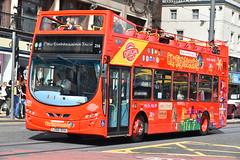 256 - LX60DXA (DavidsBuses) Tags: volvob9tl wrighteclipsegemini2 citysightseeing lothianbuses lothian 256 lx60 lx60dxa