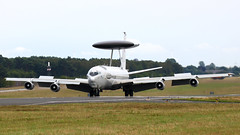 AWACS... (RALPHKE) Tags: boeinge3asentry boeinge3a boeing awacs natoairbase nato natoairbasegeilenkirchen limburg germany militaryplane planes plane airplane aircraft airbase militaryaircraft lxn90448 sentry rotodome radar