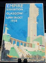 Poster for Empire Exhibition, Glasgow 1938 (jackdeightonsf) Tags: empireexhibitionscotland1938 empireexhibition1938 empireexhibition artdeco bellahoustonpark glasgow