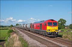 60100, Plumley (UK), 13/08/19 (bontybermo402) Tags: 60100 midland railway butterley 6f05 lostock tunstead db cargo class 60 brush traction super jga ici