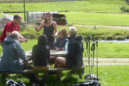 The Yorkshire Shepherdess recounting her stories