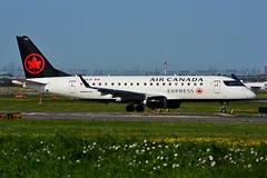 C-FEJF (Air Canada EXPRESS - Sky Regional) (Steelhead 2010) Tags: aircanada aircanadaexpress skyregional embraer emb175 yyz creg cfejf