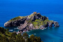 Baskenland0140Gaztelugatxe (schulzharri) Tags: baskenland basque spanien spain espana bilbao reise travel strand beach meer ocean atlantik sonnenuntergang f