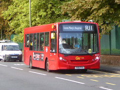 GAL SEN23 - YX61FYV - SEVENOAKS ROAD ORPINGTON - TUE 13TH AUG 2019 (Bexleybus) Tags: orpington br7 kent goahead go ahead london metrobus sevenoaks road adl dennis enviro 200 tfl route r11 sen23 yx61fyv firstbus