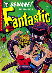 Fantastic #9 (1952), cover by Edward Goldfarb (gameraboy) Tags: fantastic 1952 1950s comics comicbook comicbookart art illustration vintage edwardgoldfarb