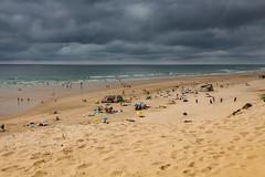 Storm at the beach (L'Teigneux) Tags: ocean sea summer france vacances atlantic été plage atlantique océan landes 2019 aquitaine gironde médoc lepinsec nouvelleaquitaine cloud storm beach clouds
