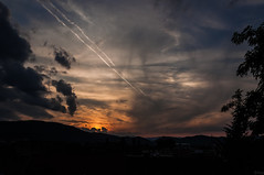150712_SchloßbergSunset_004 (Rainer Spath) Tags: österreich austria autriche steiermark styria sunset sonnenuntergang abend evening dawn dämmerung himmel sky wolken clouds d90 everythingnature