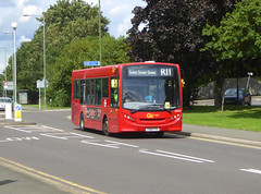 GAL SEN23 - YX61FYV - OSF - SEVENOAKS ROAD ORPINGTON - TUE 13TH AUG 2019 (Bexleybus) Tags: orpington br7 kent goahead go ahead london metrobus sevenoaks road green street adl dennis enviro 200 tfl route r11 sen23 yx61fyv firstbus