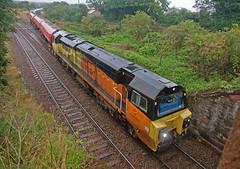 Power Shower (Richie B.) Tags: 70812 general electric class 70 colas rail dalston oil terminal cumbria 6c35