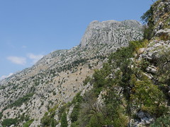 Mountains along Kotor.