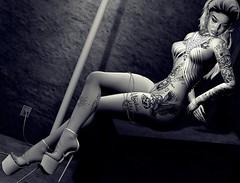 Paralyzed (Sadystika Sabretooth) Tags: events fashion glamaffair maitreya secondlife shoes shopping ubersl amias doux gardenofku genus genusproject gok kinkyevent mosquitosway mossu nanika suicidalunborn theepiphany