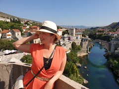 Mostar seen from the Minaret.