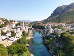 The beautiful Mostar in Bosnia.