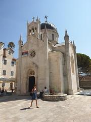 Church in Herceg Novi, Montenegro.