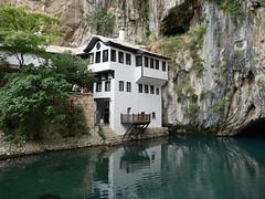 Blagaj Monastery, Bosnia.