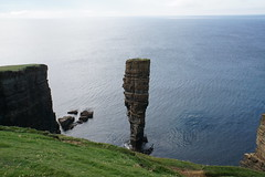 Castle of North Gaulton (Bill Boaden) Tags: orkneyislands yesnaby westmainland coast cliff seastack