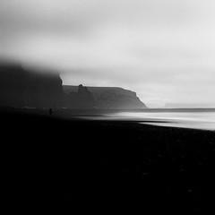 Vík (frodi brinks photography) Tags: landscape blackandwhite frodibrinks iceland