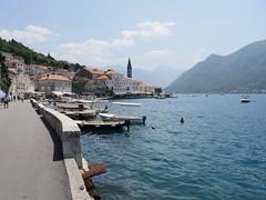 Perast, Bay of Kotor, Montenegro.
