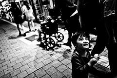 Somewhere in Kabukichō (Victor Borst) Tags: street streetlife streetphotography reallife real realpeople asian asia asians faces face candid travel travelling trip traveling urban urbanroots urbanjungle blackandwhite bw mono monotone monochrome city cityscape citylife tokyo shinjuku portrait kids japan japanese fuji fujifilm xpro2 expression expressions