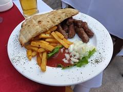 Local Bosnian dish.