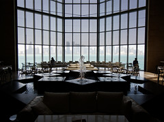 Cafe with a view (Circular Square) Tags: doha 77d museum light