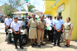 Installation of Placencia Village TPU Officers/Handing Over of Equipment