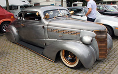 Master Deluxe (Schwanzus_Longus) Tags: big bumper meet oldenburg german germany us usa america american old classic vintage car vehicle coupe coupé hot rod chevy chevrolet master deluxe