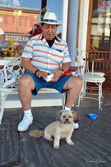Coco and Papa (Dave Skinner Photography) Tags: sutter creek yellow ragtime festival music event angel barb