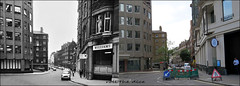 Abbey Orchard Street`1970-2019 (roll the dice) Tags: london westminster sw1 victoria local old history surreal retro bygone seventies sad mad changes collection canon tourism tourists streetfurniture architecture demolished oldandnew vanished pastandpresent hereandnow urban england cars traffic uk classic art fashion peabody flats windows devilsacre tothillfields crime slums victorian chimney council trees telephone arrow construction
