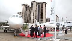 FALCON 2000S at LABACE 2019 - IMG_9100 (VascoPress Comunicações) Tags: labace2019 congonhasairport aviation aviação aeroportodecongonhas