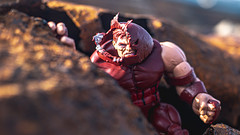 Ain't nothin' -- ain't nobody -- can beat me! (3rd-Rate Photography) Tags: juggernaut cainmarko xmen jackkirby stanlee marvel marvellegends toy toyphotography actionfigure canon 50mm 5dmarkiii jacksonville florida 3rdratephotography earlware