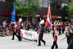 Canmore Canada Day Parade 2019 Red Deer Royals 1 (Bracus Triticum) Tags: canmore canada day parade 2019 red deer royals marching band キャンモア アルバータ州 alberta カナダ 7月 七月 文月 shichigatsu fumizuki bookmonth reiwa summer july