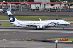 Alaska Airlines - Boeing 737-900ER - N457AS - Portland International Airport (PDX) - June 3, 2015 6 150 RT CRP (TVL1970) Tags: nikon nikond90 d90 nikongp1 gp1 geotagged nikkor70300mmvr 70300mmvr aviation airplane aircraft airlines airliners portlandinternationalairport portlandinternational portlandairport portland pdx kpdx n457as alaskaairlines alaskaairgroup boeing boeing737 boeing737900 boeing737900er 737 737ng b737 b737ng b739 737900 737900wl 737900er 737900erwl boeing737990 737990 737990wl 737990er 737990erwl aviationpartners winglets splitscimitarwinglets cfminternational cfmi cfm56 cfm567b27 cfm567b27e thrustreverser thrustreversers