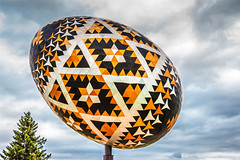 Giant Easter Egg (Bracus Triticum) Tags: giant easter egg アルバータ州 alberta canada カナダ vegreville 7月 七月 文月 shichigatsu fumizuki bookmonth 2019 reiwa summer july