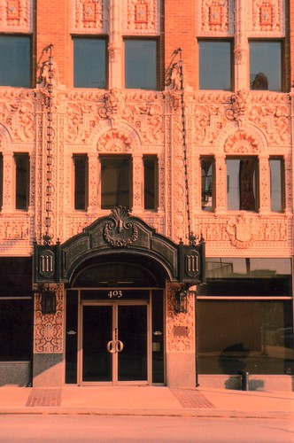 The Adams Hotel is located on a lot in the heart of the Central Business District of Tulsa. Built by I. S. Mincks to capitalize on the 1928 International Petroleum Exposition,
