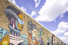 Art Wall Houston (Mabry Campbell) Tags: 6thward artwallhou harriscounty houston sixthward texas usa colorful image painting photo photograph wall wallart f63 mabrycampbell june 2019 june42019 20190604houstoncampbellh6a9418 24mm ¹⁄₃₂₀sec 100 tse24mmf35lii