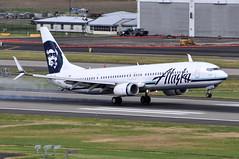 Alaska Airlines - Boeing 737-900ER - N457AS - Portland International Airport (PDX) - June 3, 2015 6 146 RT CRP (TVL1970) Tags: nikon nikond90 d90 nikongp1 gp1 geotagged nikkor70300mmvr 70300mmvr aviation airplane aircraft airlines airliners portlandinternationalairport portlandinternational portlandairport portland pdx kpdx n457as alaskaairlines alaskaairgroup boeing boeing737 boeing737900 boeing737900er 737 737ng b737 b737ng b739 737900 737900wl 737900er 737900erwl boeing737990 737990 737990wl 737990er 737990erwl aviationpartners winglets splitscimitarwinglets cfminternational cfmi cfm56 cfm567b27 cfm567b27e pianokeys tiresmoke