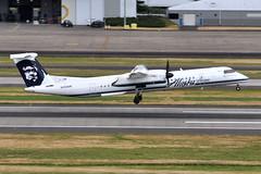 Alaska Airlines (Horizon Air) - Bombardier (De Havilland Canada) DHC-8-402Q (Dash 8 / Q400) - N434MK - Milton G. Kuolt II - Portland International Airport (PDX) - June 3, 2015 6 107 RT CRP (TVL1970) Tags: nikon nikond90 d90 nikongp1 gp1 geotagged nikkor70300mmvr 70300mmvr aviation airplane aircraft airlines airliners portlandinternationalairport portlandinternational portlandairport portland pdx kpdx n434mk alaskaairlines horizonair horizon alaskaairgroup miltongkuoltii miltongkuolt speciallivery dehavillandcanada dehavilland dhc dehavillandcanadadhc8 dehavillandcanadadash8 dehavillanddhc8 dehavillanddash8 dhc8 dash8 q400 dhc8400 dhc8402 dhc8402q bombardieraerospace bombardier bombardierdash8 bombardierq400 prattwhitney pw prattwhitneycanada pwc prattwhitneycanadapw100 prattwhitneycanadapw150 prattwhitneycanadapw150a pwcpw100 pwcpw150 pwcpw150a pw100 pw150 pw150a turboprop