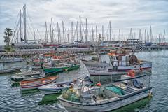 Lagos Fisherboats (WS Foto) Tags: lagos algarve portugal europe eu fischerboote hafen harbour sea meer blue blau cloudy sky himmel wolkig yachthafen jachthafen fischereihafen water saltwater fisherboats fishing