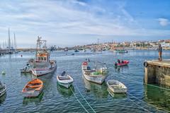 Lagos Fisherboats (WS Foto) Tags: lagos algarve portugal europe eu fisherboats fischerboote hafen harbour meer sea blue blau clouds white wolken weis water saltwater fishing