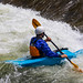 Kayaker in Clear Creek - Golden, Colorado