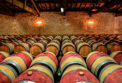 Aging Room (Christy Turner Photography) Tags: 2018 calgaryphotographer calgarytravelphotographer christyturnerphotography winemaking wine winephotography vino barrels aging bordeaux medoc