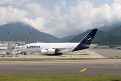 Lufthansa A380-800 D-AIMD parked at HKG/VHHH (Jaws300) Tags: deutschland hongkongcheklapkokinternationalairport cheklapkok cheklapkokairport cheklapkokinternationalairport lantauisland remotestand quadjet rollsroyce lufthansa lantau island hong kong chek lap kok international airport dlh lh tokio rr trent 970 rrtrent rrtrent970 rolls royce canon 5d hongkong plane planes airplanes airplane aircraft airliner jet quad jetliner gate terminal hkg vhhh hkia clk airbus parked parking remote stand apron a388 a380 a380800 heavy fourengines daimd germany german lufthansagermanairlines de europe europa