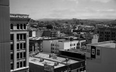 Skyline (bingley0522) Tags: leicaiiic zeissjenasonnar50mmf15ltm trix hc110h epsonv500scanner sanfrancisco themission skyline urbanlandscape autaut