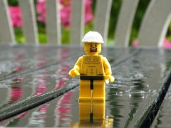Hey-Ho, what a lovely day! (captain_j03) Tags: toy spielzeug 365toyproject lego minifigure minifig regen rain