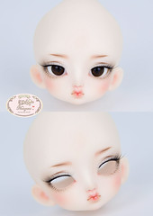 Luts tiny delf NS. (♥..Nomyens..♥) Tags: bjd balljointdoll toy doll custom faceup paint painting painted repaint handmade nomyens nomyenscom luts tinydelf