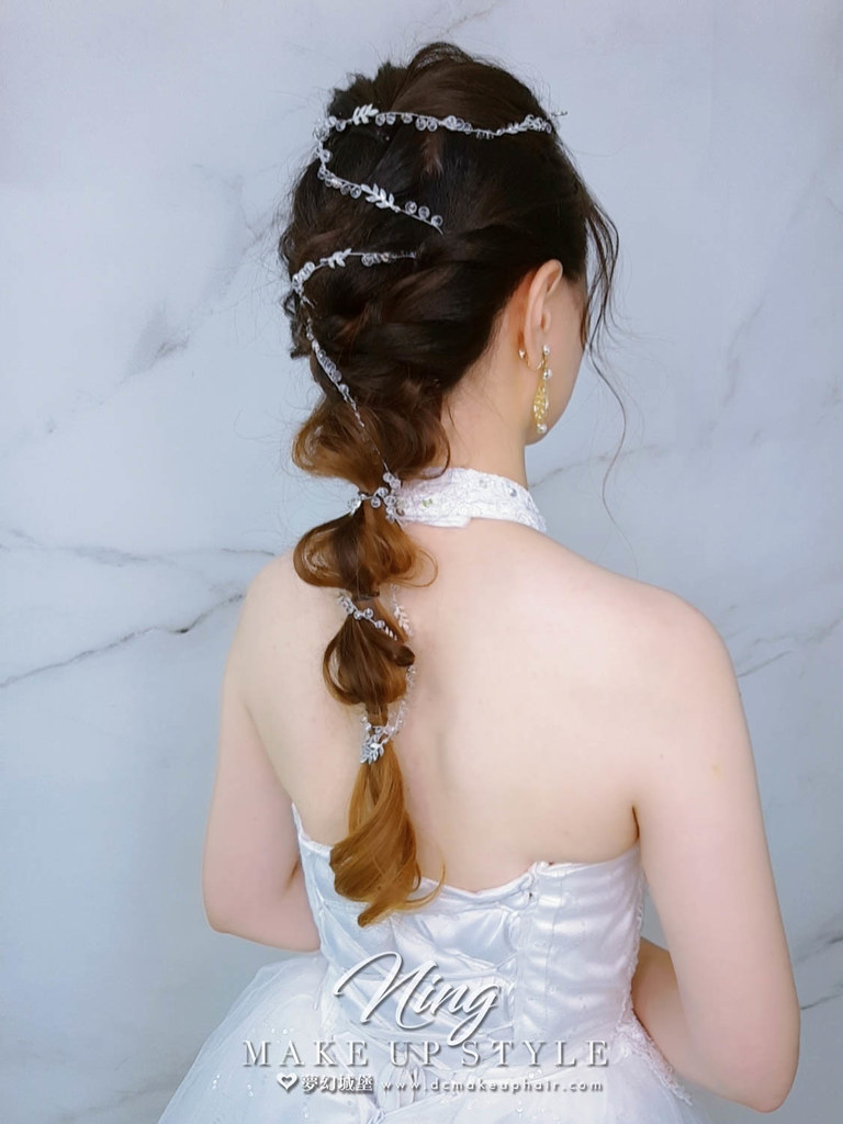 【新秘羽寧】新娘造型創作 / 後編髮造型