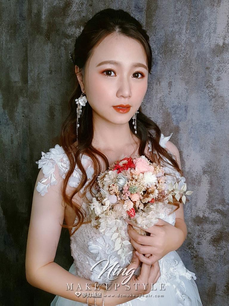 【新秘羽寧】新娘造型創作 / 仙女浪漫公主頭